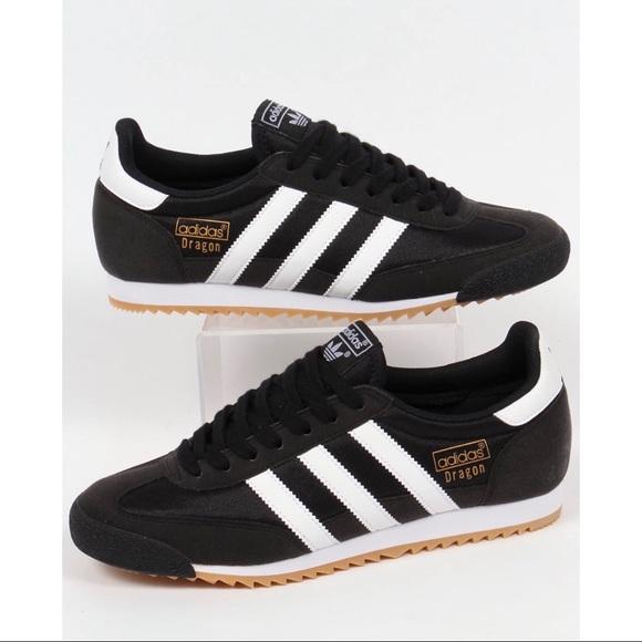 Adidas dragon white/black sneakers
